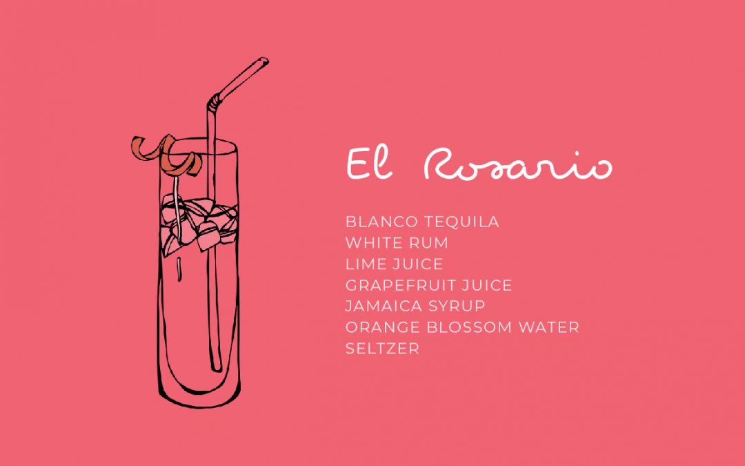 El Rosario Cocktail Recipe Penca Restaurante